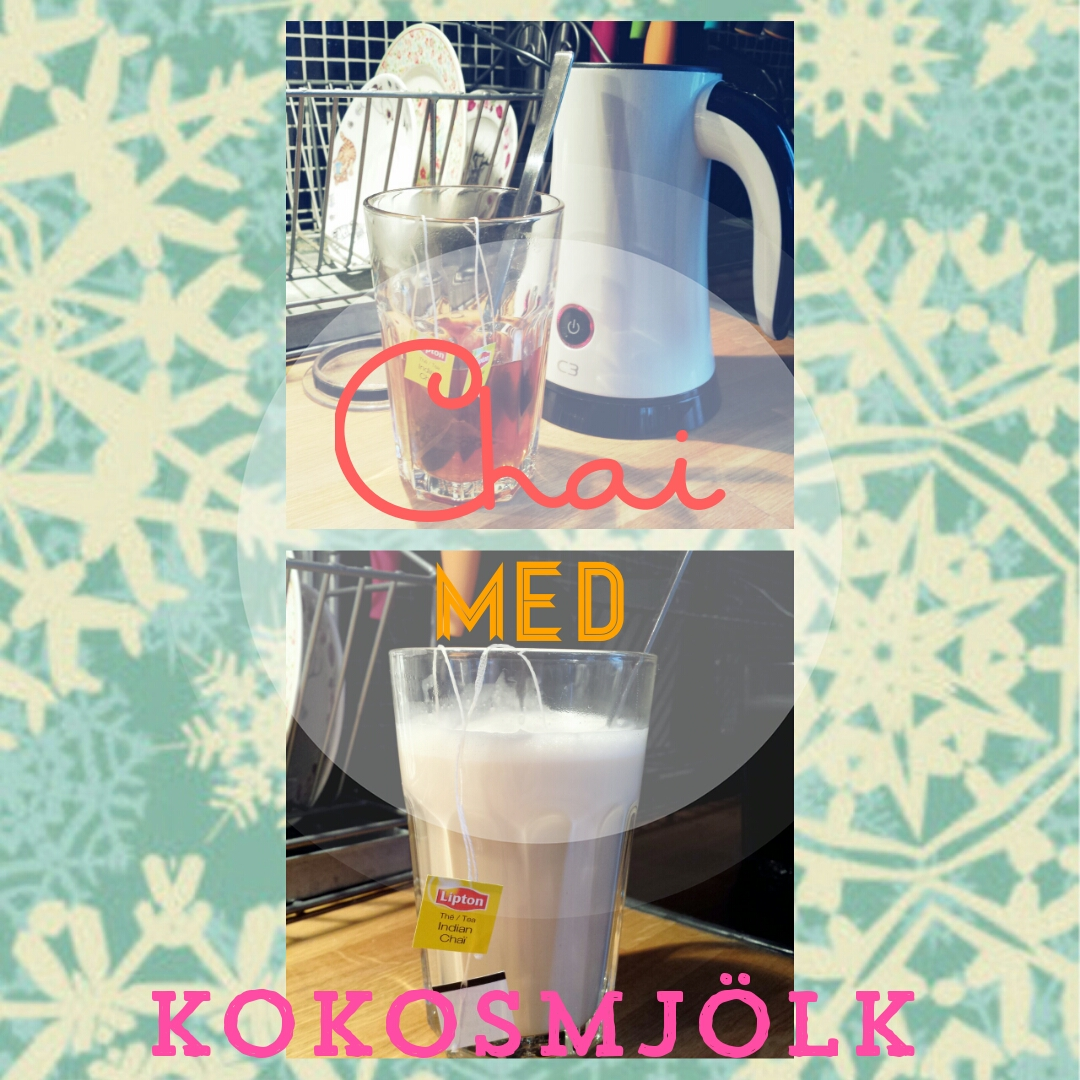 chai, kokosmjölk