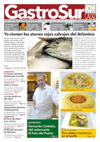 GastroSur nº5 portada