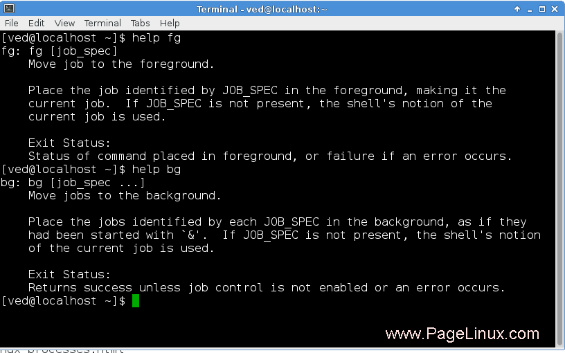 jobs  fg  u0026 bg commands in linux   simple linux  the linux