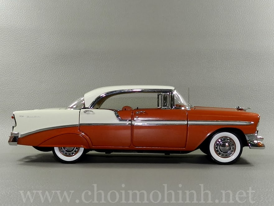 Chevrolet Bel Air 1956 1:18 Precision Miniatures side