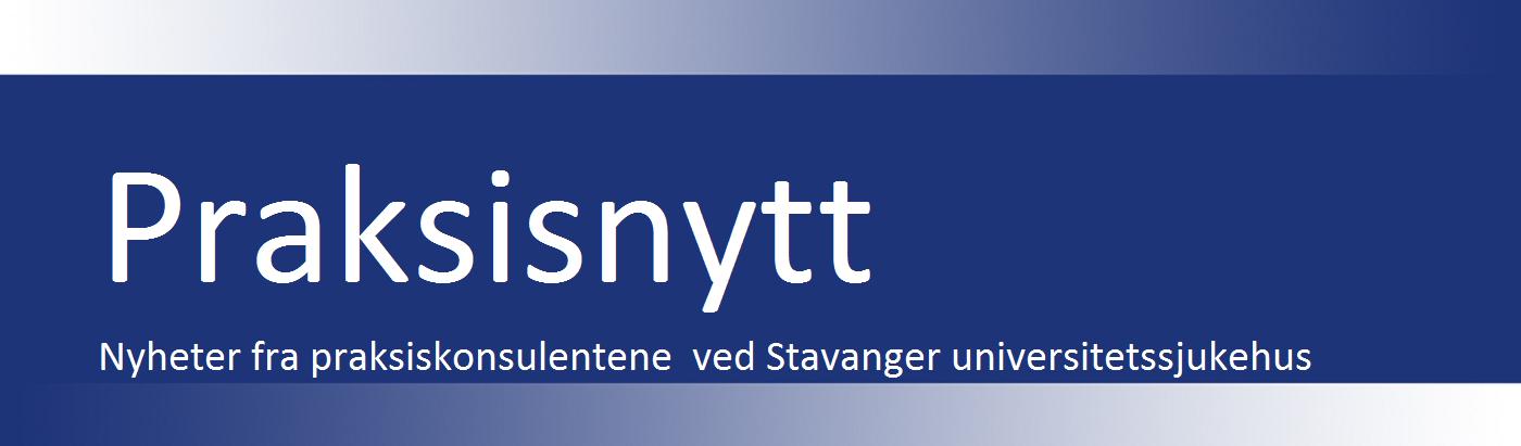 Praksisnytt Stavanger universitetssjukehus