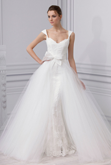 two in one bridal dresses