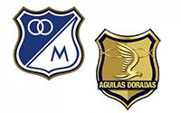 Millonarios vs Aguilas Doradas