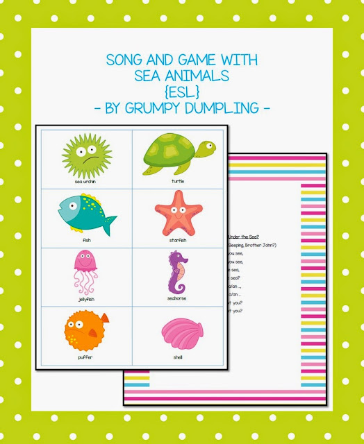 https://www.teacherspayteachers.com/Product/Song-and-Game-With-Sea-Animals-ESL-1862273