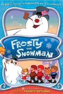 DVD cover for Frosty the Snowman 1969 disneyjuniorblog.blogspot.com