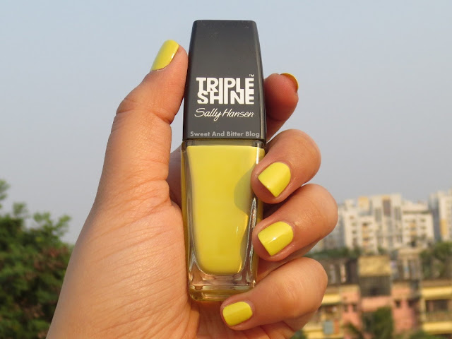 Sally Hansen Chartreuse Yellow Nail Polish