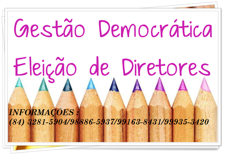 ELEIÇÕES PARA GESTORES ESCOLARES 2016