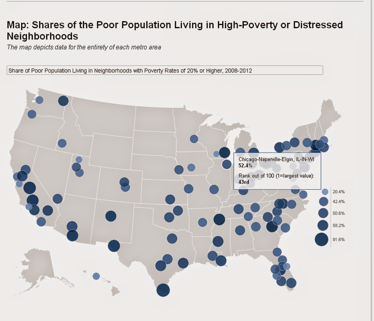 Mapping For Justice US Cities Where Poverty Growing Fastest - Map of us fastest growing cities