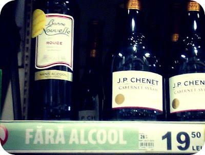Stiai ca exista vin fara alcool?
