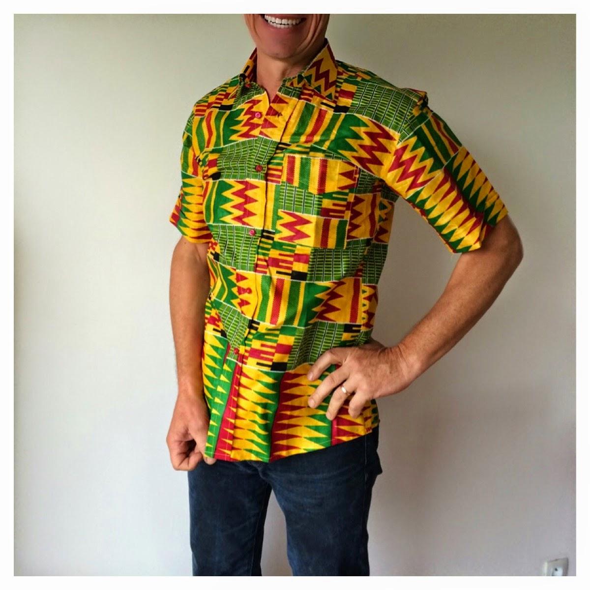 Stylafrica, la mode africaine en pagne: Vestes, chemises et pantalons en Pagne