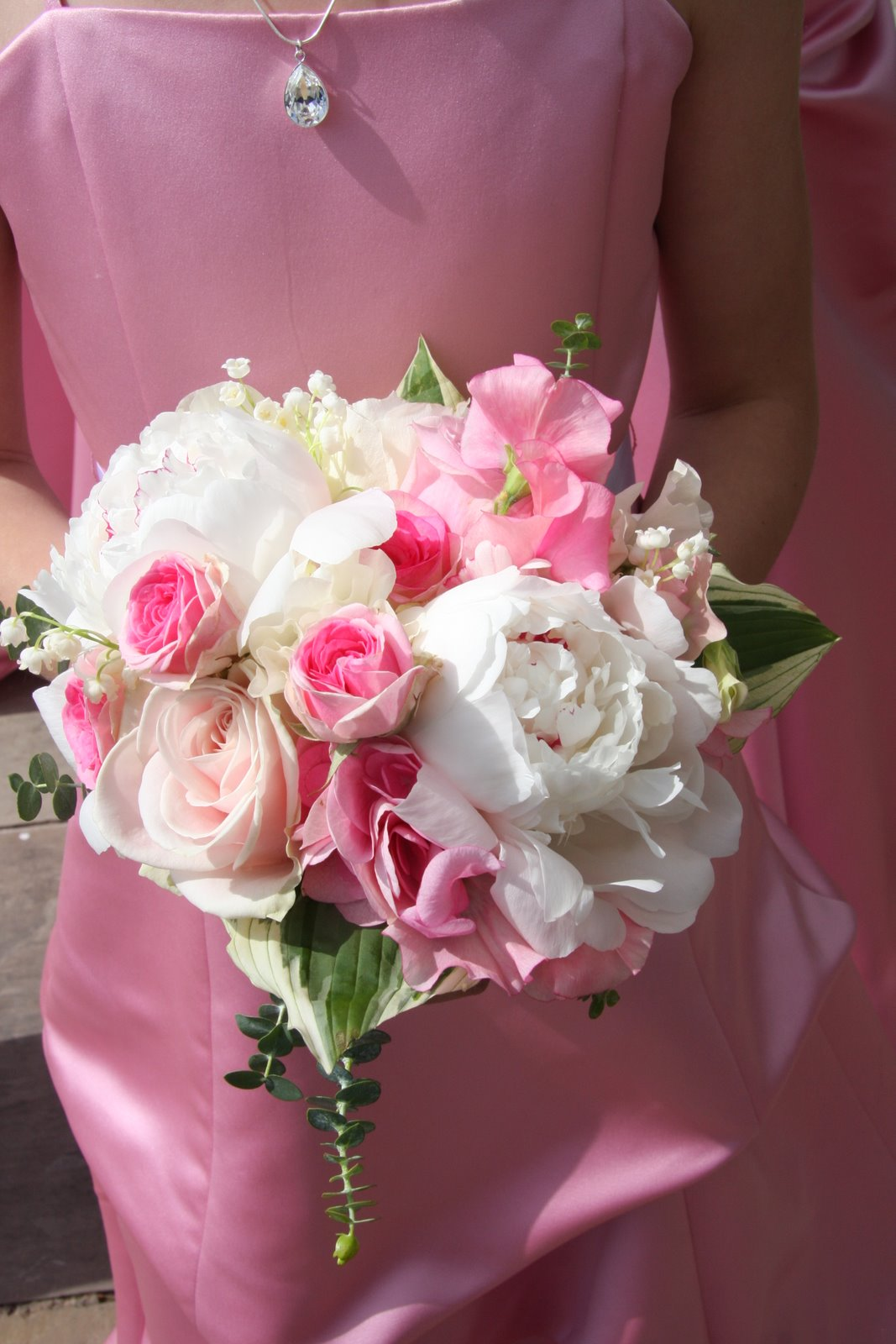 Flower Design Beautiful Bridesmaids Bouquets Pretty In Pink