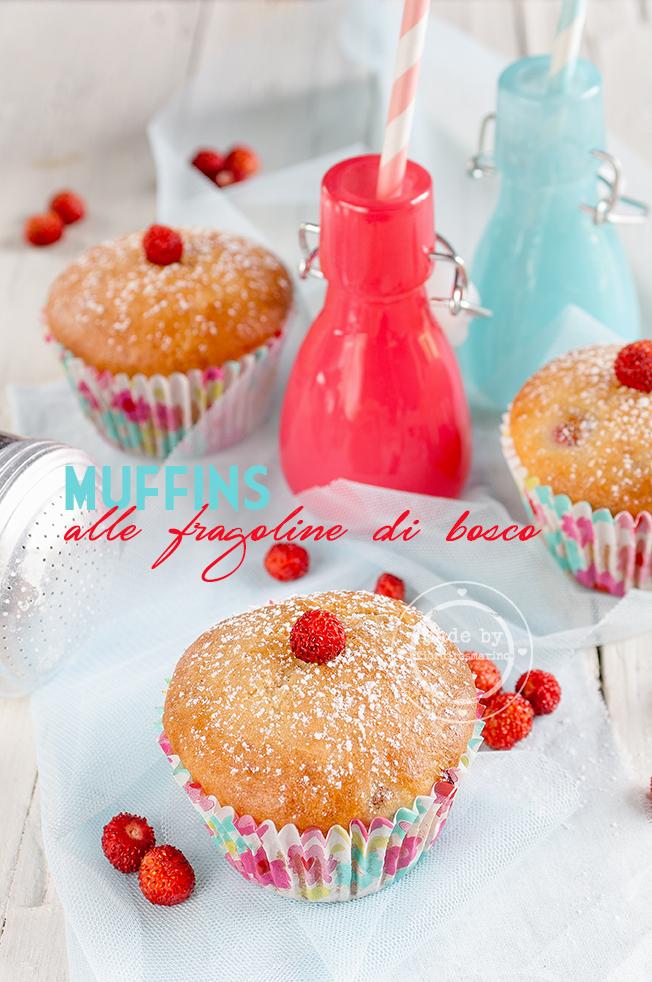 muffins alle fragoline di bosco