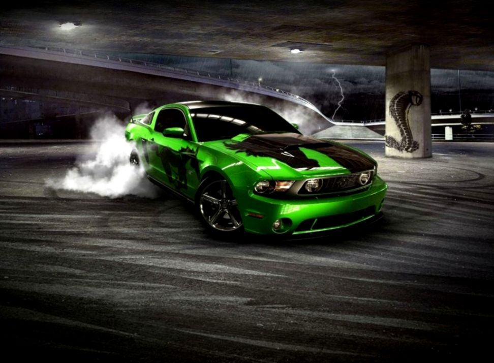 Ford Mustang Cars Drifting Wallpaper All Hd Wallpapers