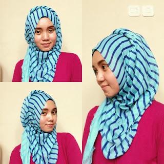 Tutorial Hijab untuk Traveling