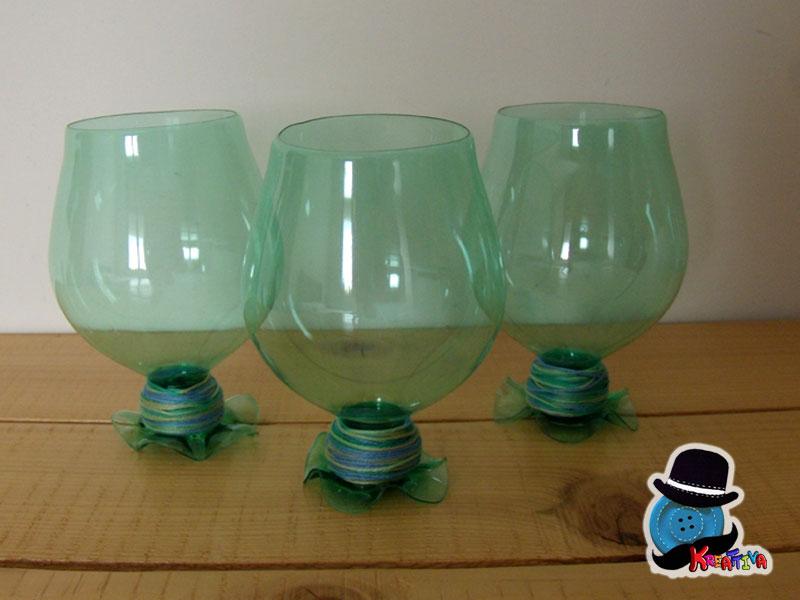 Exceptionnel Come realizzare calici con bottiglie di plastica - Kreattivablog XZ71