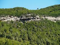 Turons testimoni de les pedreres de Sant Vicenç