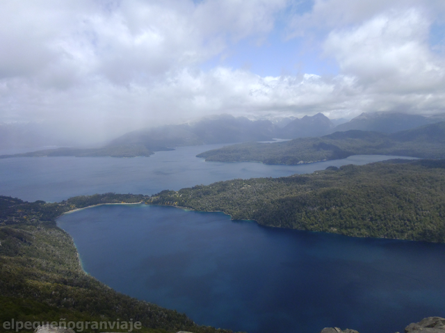 Cerro Belvedere, Villa La Angostura, 7 lagos, Lago Correntoso, mirador