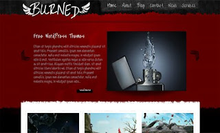 Burned WordPress Theme