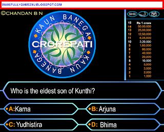 Download Kaun Banega Crorepati Game For Pc