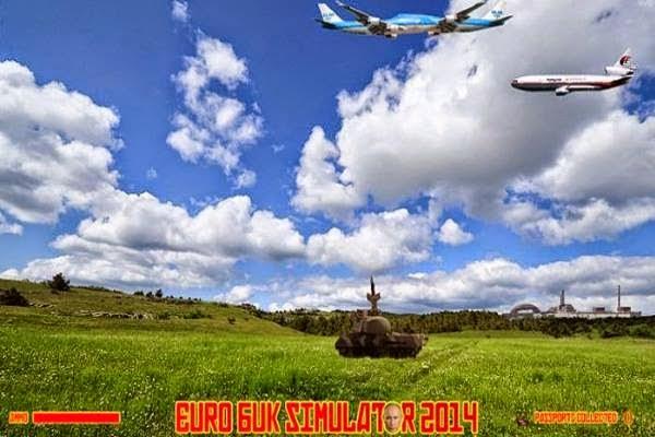 KEJI Biadab Sungguh Permainan Game HINA Mangsa MH17