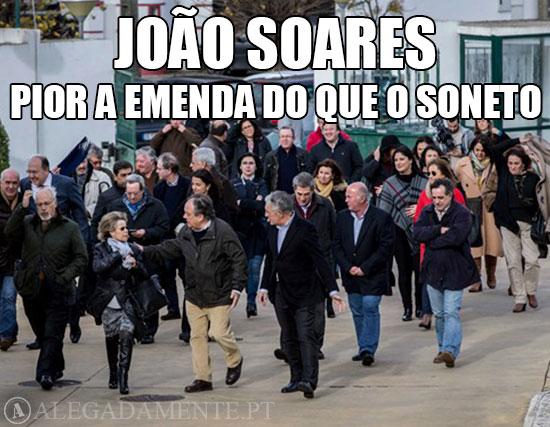 Imagem de João Soares e Maria de Belém – Pior a emenda do que o soneto