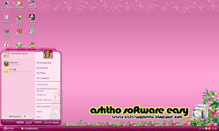 Tema Barbie untuk Windows XP