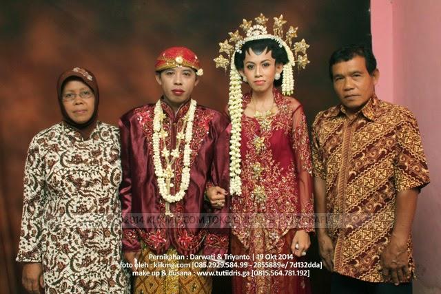 AKad Nikah DARWATI & TRIYANTO 19 November 2014 Tata Rias oleh : Tuti IdrisTata Rias Pengantin Purwokerto | Foto oleh Klikmg Fotografer Banyumas