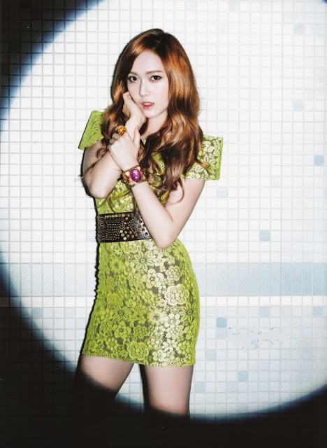 SNSD Girls Generation Jessica Flower Power Individual Pictures