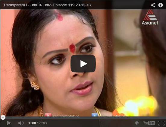 Watch Parasparam Serial 21st Dec 2013 ( 21/12/2013 ) Episode