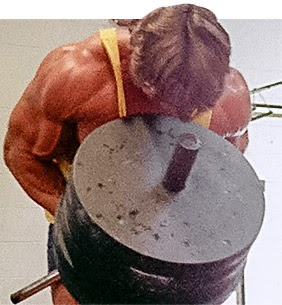 Body building fitness guide arnolds blueprint to mass arms for biceps work arnold did curls of all kinds one technique he used to shock his biceps was to start by doing 1 rep with 275 pounds and then 2 reps malvernweather Image collections