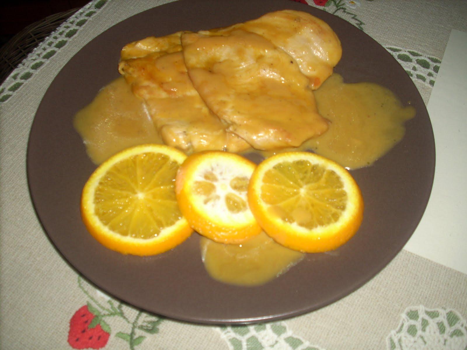 Recetas con el paladar pechugas de pollo al lim n o a la - Pechugas de pollo al limon ...