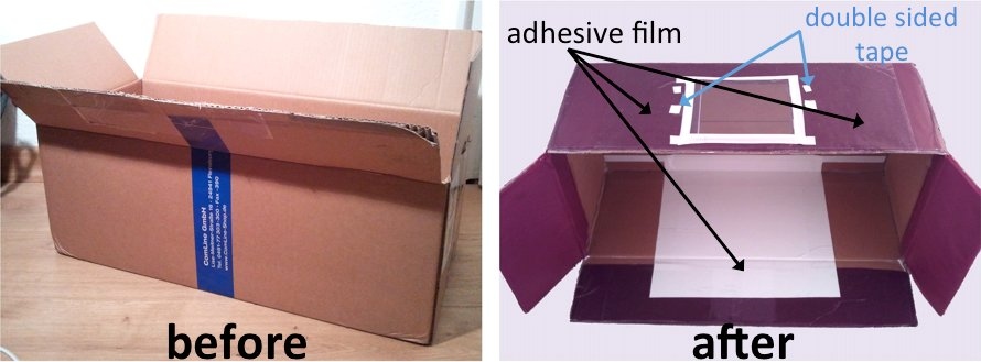 DIY drawing projector for decorating cookies, box B