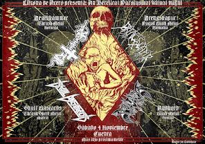 Deathhammer cuenca 4 de Noviembre