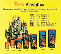 Catálogo de ExinMex donde aparece el modelo azul nº 4