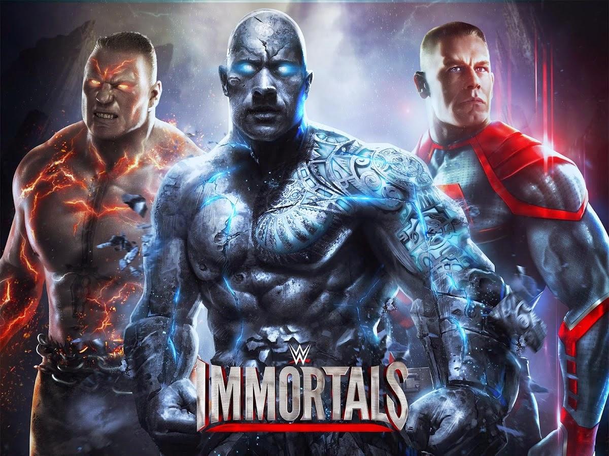 WWE Immortals Apk Obb
