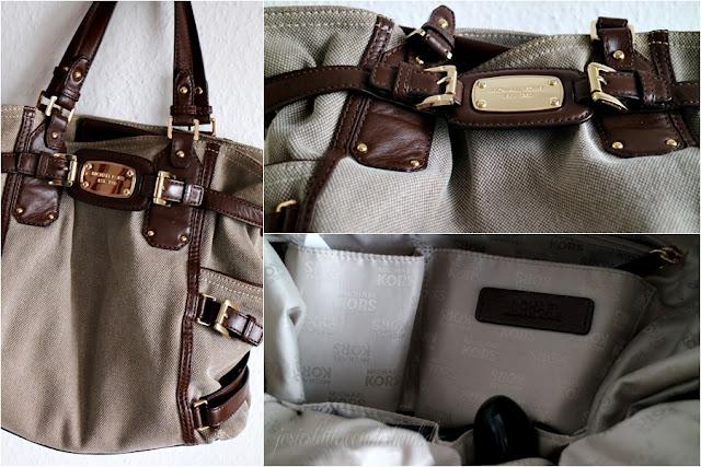 What´s in my Bag - Josie´s little Wonderland | blogparade, www.josieslittlewonderland.de michael kors, canvas bag, tote bag, tasche