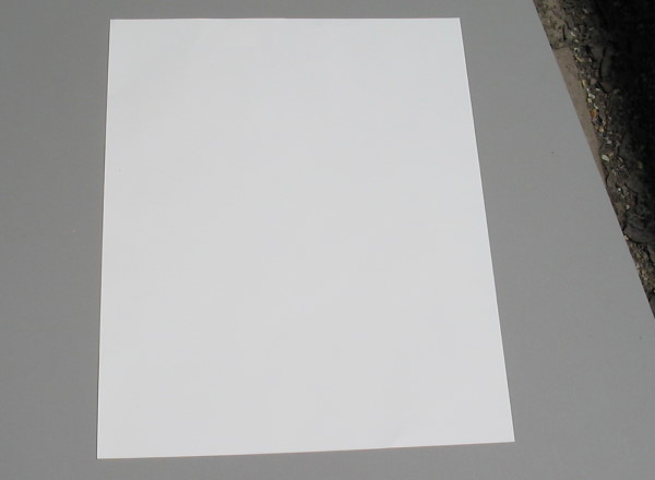 Thickness of a Piece of Paper