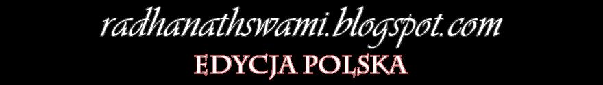 radhanathswami.blogspot.com - edycja polska