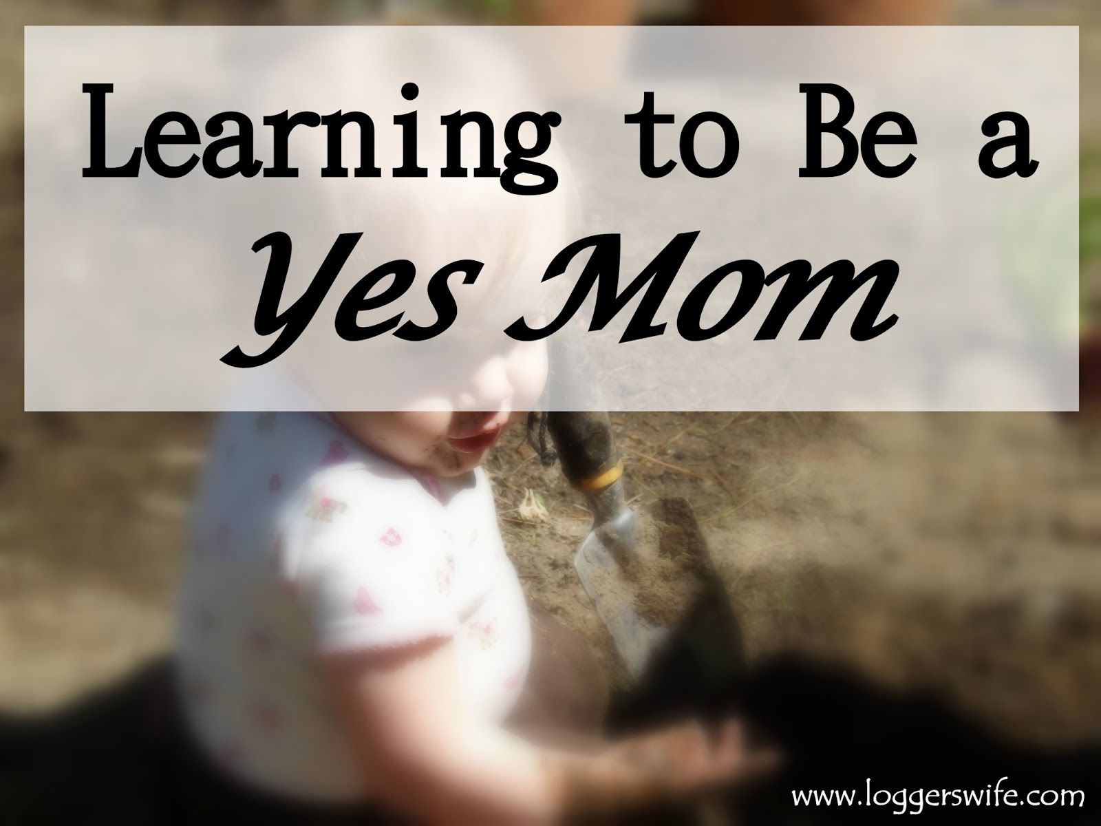 Learning to Be a Yes Mom