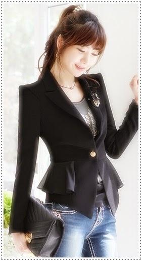 Model blazer wanita modern