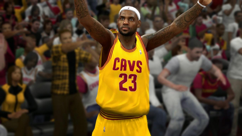 LeBron James Cleveland Cavaliers NBA 2K14