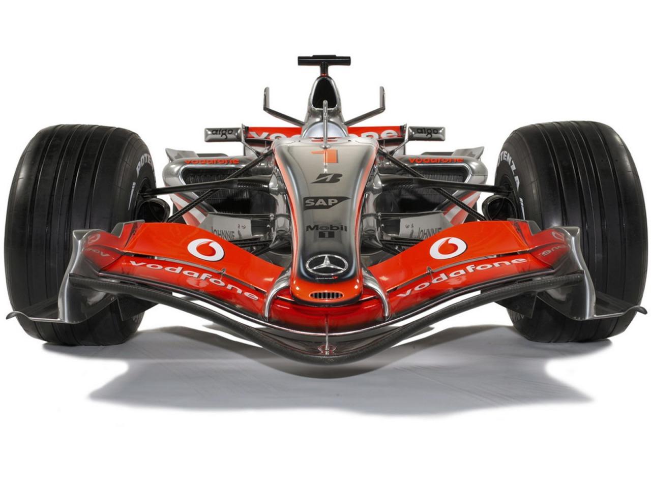 wallpaper mclaren vodafone team formula 1: