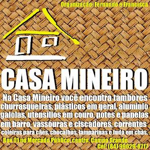 Casa Mineiro em Campo Grande - Aqui tem o que você precisa!