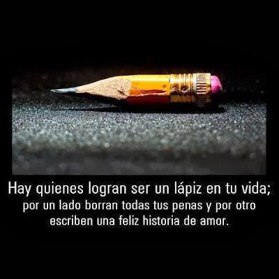 Un lápiz en tu vida