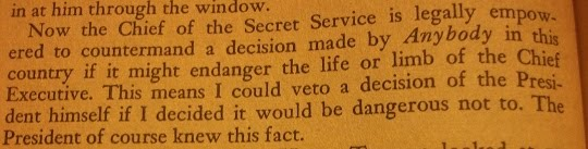 """Secret Service Chief"" by Secret Service Director U.E. Baughman (1962), page 70"