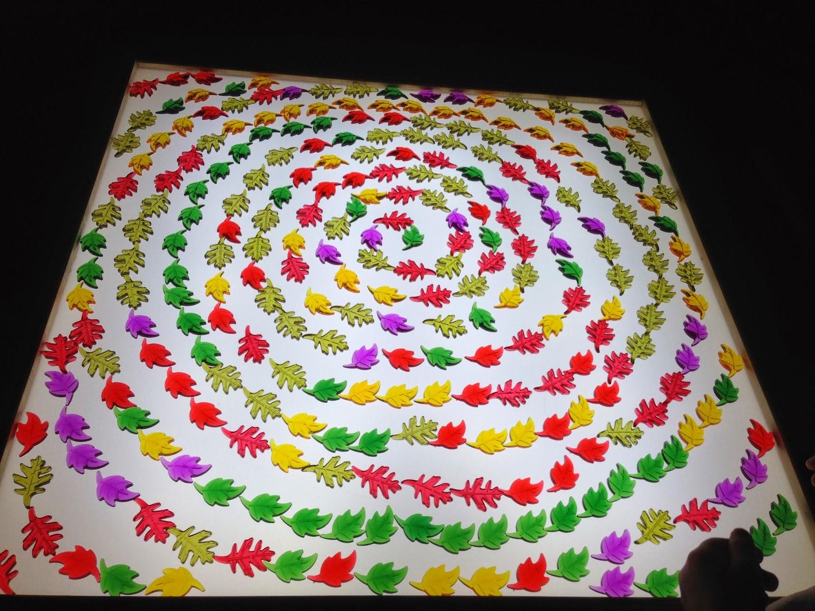 beautiful light table play