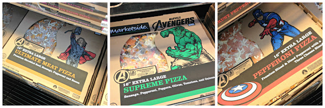 Avengers, Marketside Pizza, Walmart, Augmented Reality, #MarvelAvengersWMT