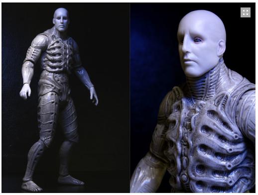 Tv//Film Custom Mini Figures Prometheus Engineer