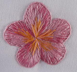 λουλούδι, κέντημα,
