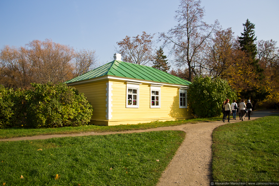 В пушкинской усадьбе в Болдине